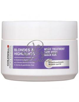Goldwell - Dualsenses Blondes Highlights 60 Sec Treatment Női dekoratív kozmetikum Melírezett és szőke hajra Hajmaszk 200ml