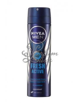 Nivea - Men Fresh Active Anti-perspirant Deodorant Férfi dekoratív kozmetikum 48 Egy órás védelem izzadás ellen Dezodor (Deo spray) 150ml