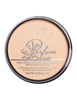 Rimmel London - Stay Matte Long Lasting Pressed Powder Női dekoratív kozmetikum 003 Peach Glow Smink 14g