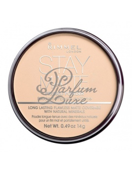 Rimmel London - Stay Matte Long Lasting Pressed Powder Női dekoratív kozmetikum 005 Silky Beige Smink 14g