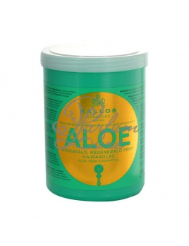 Kallos - Aloe Vera Moisture Repair Shine Hair Mask Női dekoratív kozmetikum sérült hajra Hajmaszk 1000ml