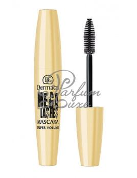 Dermacol - Mega Lashes Mascara Női dekoratív kozmetikum black Szempillaspirál 13ml