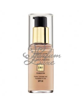 Max Factor - Face Finity 3in1 Foundation SPF20 Női dekoratív kozmetikum 50 Natural Smink 30ml