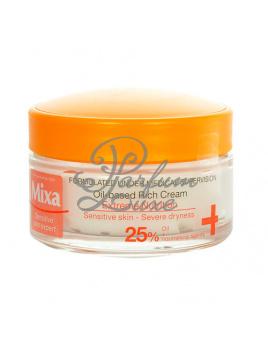 Mixa - Oil-based Rich Cream Női dekoratív kozmetikum nagyon száraz arcbőrre Nappali krém száraz bőrre 50ml