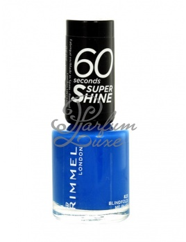Rimmel London - 60 Seconds Super Shine Nail Polish Női dekoratív kozmetikum 323 Funtime Fuchsia Körömlakk 8ml
