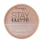 Rimmel London - Stay Matte Long Lasting Pressed Powder (W)