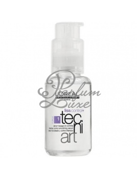 L'Oreal Paris - Tecni Art Liss Control + Serum Női dekoratív kozmetikum Szérum a haj kisimítására Hajbalzsam 50ml