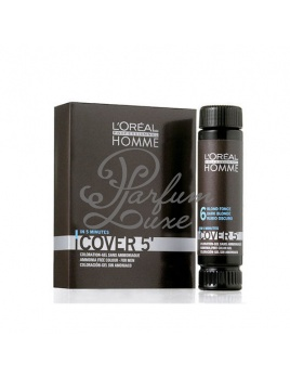 L'Oreal Paris - Homme Cover 5 Hair Color Férfi dekoratív kozmetikum 3 Dark Brown, Hajfesték 3x50ml