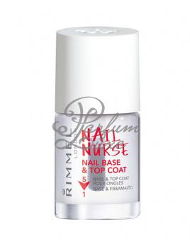 Rimmel London - Nail Nurse Nail Base & Top Coat Női dekoratív kozmetikum Körömápoló 5v1 Körömlakk 12ml