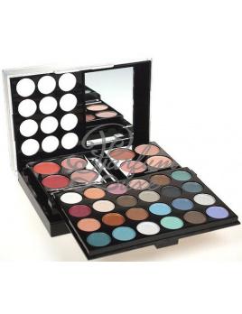 Makeup Trading - Schmink Set 40 Colors Női dekoratív kozmetikum Teljes Smink Paletta, Kazettás dekoratív kozmetika Dekoratív tok 32,1g