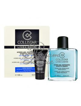 Collistar - Men Hydro-gel After Shave Fresh Effect Férfi dekoratív kozmetikum Set (Ajándék szett) 100ml Borotválkozás utáni after shave Gél + 30ml Ránctalanító Krém