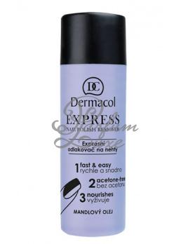 Dermacol - Express Nail Polish Remover Női dekoratív kozmetikum Körömlakklemosó 120ml