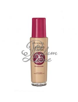Rimmel London - Lasting Finish 25h Foundation Női dekoratív kozmetikum 200 Soft Beige Smink 30ml