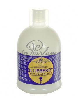 Kallos - Blueberry Hair Shampoo Női dekoratív kozmetikum Sampon száraz és sérült hajra Sampon száraz hajra 1000ml
