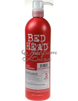Tigi - Bed Head Resurrection Shampoo Női dekoratív kozmetikum Sampon nagyon elgyengült hajra Sampon száraz hajra 750ml