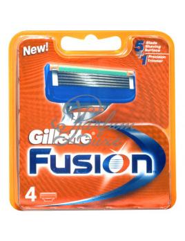 Gillette - Fusion Férfi dekoratív kozmetikum 4db Tartalék fej Borotválkozási készítmény 1db