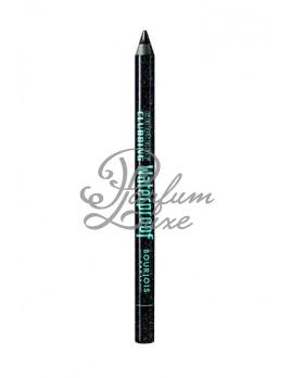 BOURJOIS Paris - Contour Clubbing Waterproof Eye Pencil Női dekoratív kozmetikum 55 Ultra Black Glitter Szemkihúzó 1,2g