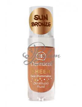 Dermacol - Sheer Face Illuminator Női dekoratív kozmetikum sun bronze Arcápoló szérum, emulzió 15ml