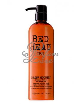 Tigi - Bed Head Colour Goddess Shampoo Női dekoratív kozmetikum ápoló barna és piros hajra Sampon színes, sérült hajra 400ml